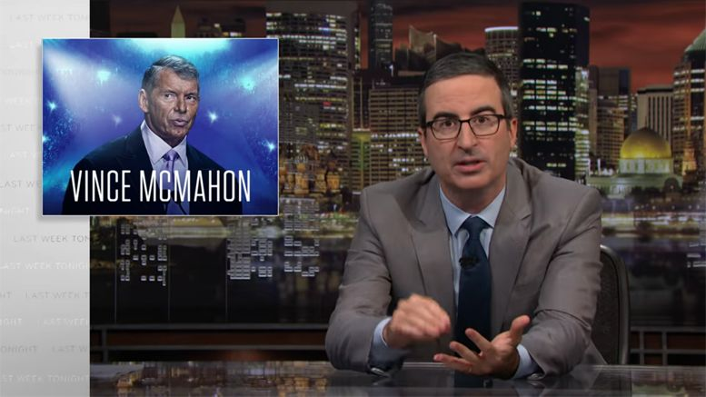 john oliver wwe last week tonight statement invite wrestlemania 35