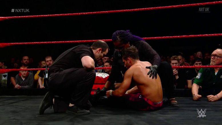 WWE, CWC, Noam Dar, NXT UK, 205 Live, Injury