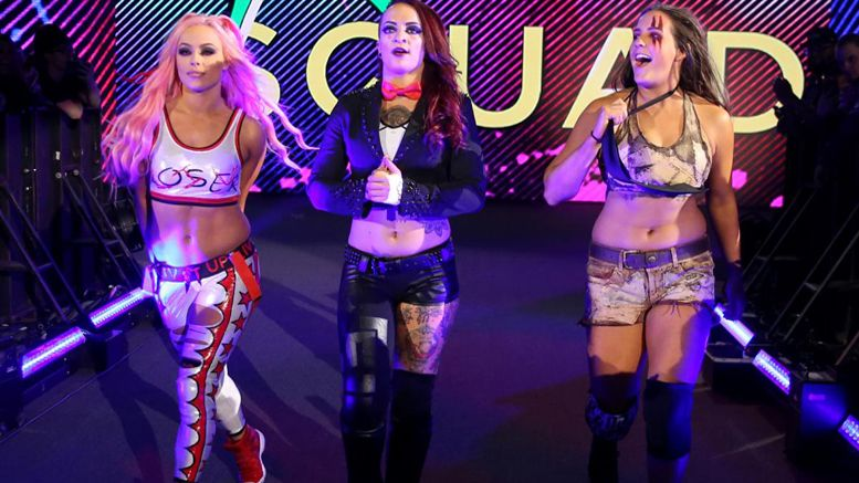Ruby Riott, Liv Morgan, Sarah Logan, WWE, Riott Squad, Raw, SmackDown Live, Superstar Shake-Up