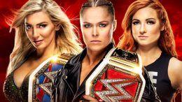 WWE, Ronda Rousey, Charlotte Flair, Becky Lynch, WWE, Raw, Smackdown