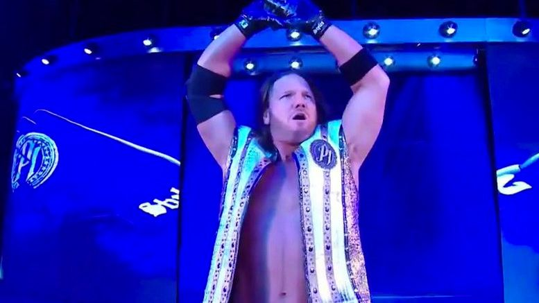 aj styles monday night raw draft superstar shake-up shakeup
