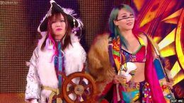asuka kairi sane smackdown paige reveal tag team