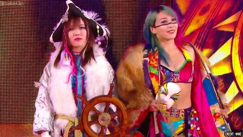 asuka kairi sane smackdown paige reveal tag team