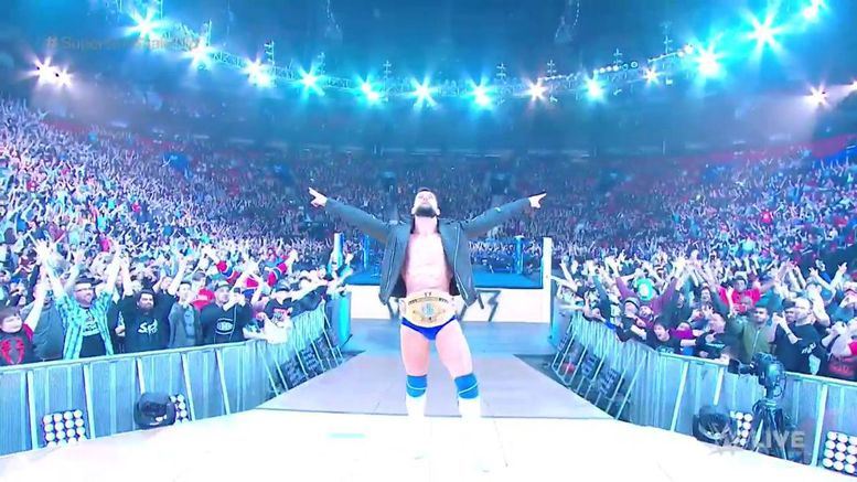 Finn Balor, WWE, SmackDown Live, Raw, Intercontinental Champion, superstar shakeup