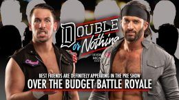best friends aew double or nothing chuck taylor trent over the budget battle royal
