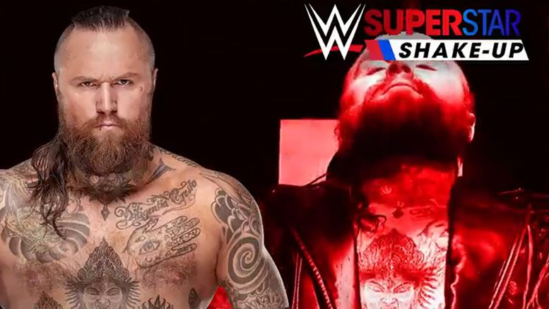 aleister black ricochet raw ec3 lars sullivan superstar shakeup shake-up