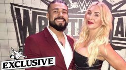 charlotte flair not engaged andrade tmz
