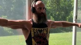 tommaso ciampa resumes resumed training again video workout