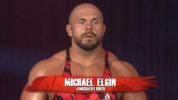 michael elgin impact wrestling debut video brian cage rebellion