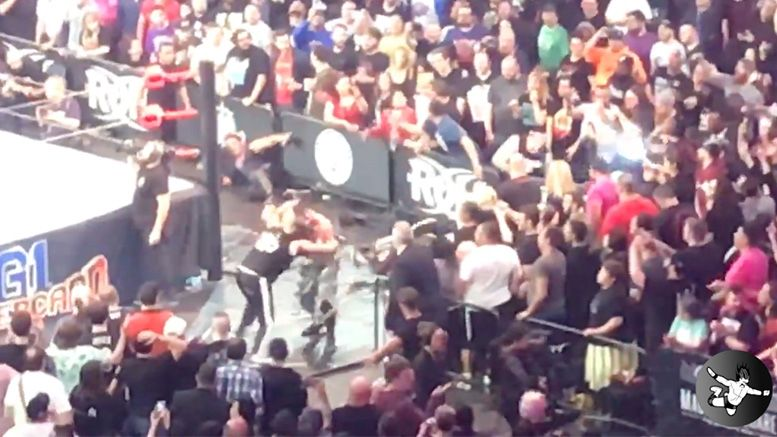 Enzo Amore, Big Cass Jump The Rail At ROH/NJPW G1 Supercard