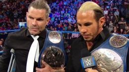 hardy boyz jeff hardy surgery smackdown tag team champions relinquish title