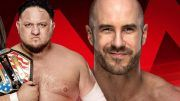 samoa joe, cesaro wwe raw switch move brand roster superstar shakeup