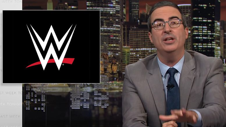 John Oliver Slams WWE Over Mistreatment of Wrestlers