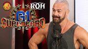pj black interview g1 supercard roh wrestling sheet