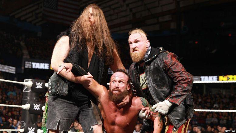WWE, Sanity, Killian Dain, Eric Young, Alexander Wolfe, SmackDown, Raw, NXT
