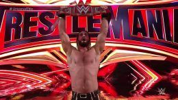 seth rollins, brock lesnar, wwe, wrestlemania, universal championship