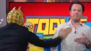 sin cara chop tv show host video