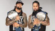 The Usos, WWE, SmackDown Live, WrestleMania, Rusev, Nakamura, Sheamus, Cesaro, Ricochet, Aleister Black
