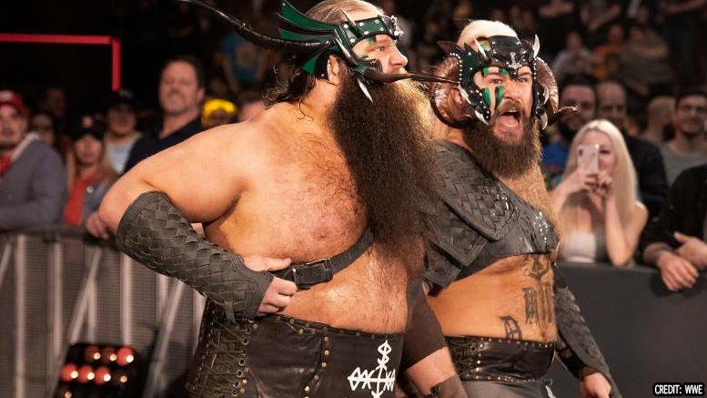 viking experience raiders wwe nxt name change superstar shakeup