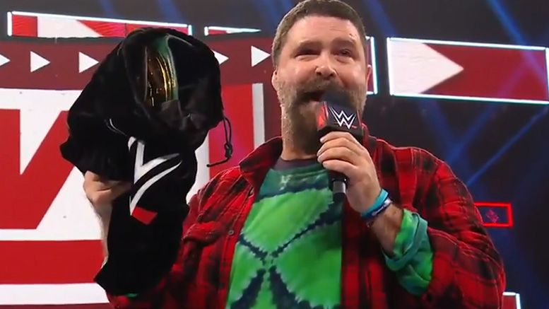 Mick Foley Reveals the 24/7 Title on Monday Night RAW