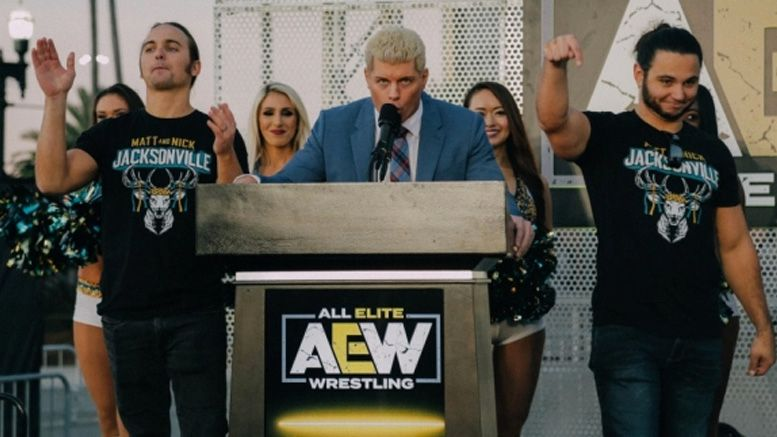 all elite wrestling tv deal warnermedia upfronts tnt turner