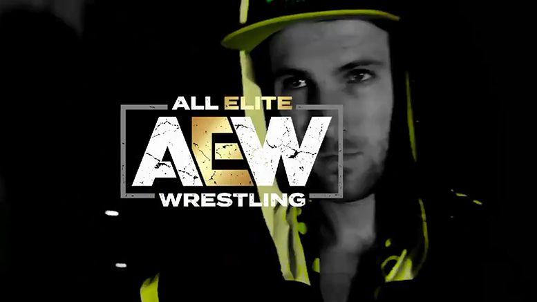 angelico jack evans all elite wrestling aew video announcement