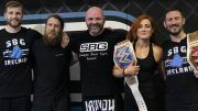 becky lynch daniel bryan conor mcgregor coach wwe dublin