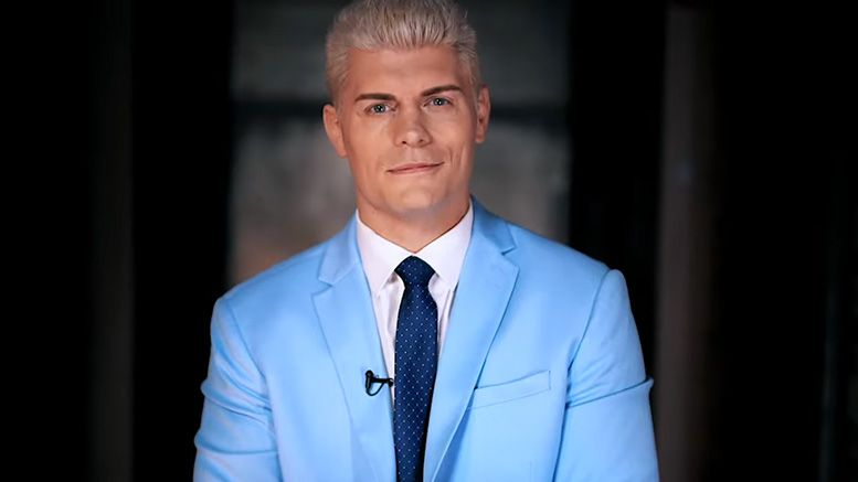 cody rhodes thank you video aew tv deal tnt