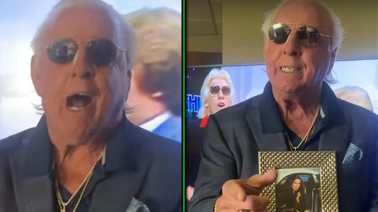 ric flair video health scare miracle