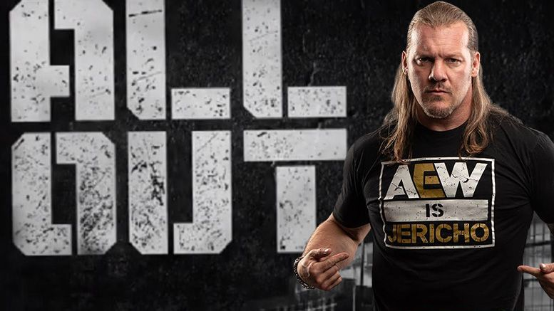 chris jericho hangman page adam all out aew all elite wrestling world title championship