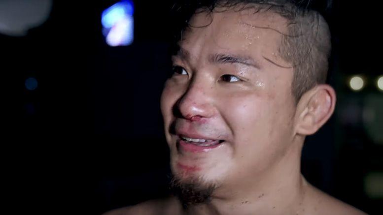 kushida nxt debut reborn video interview