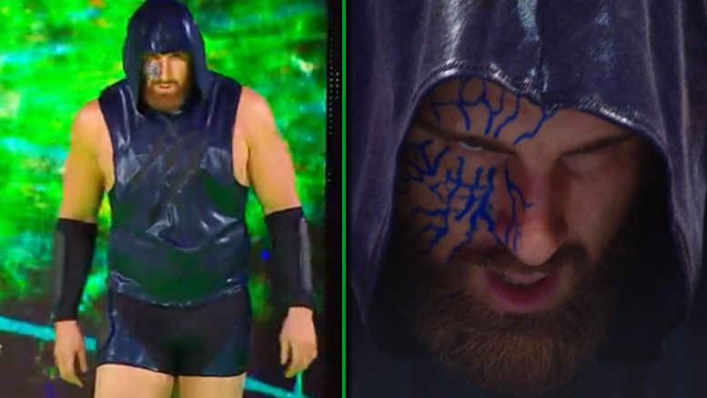 mojo rawley new gimmick look video main event