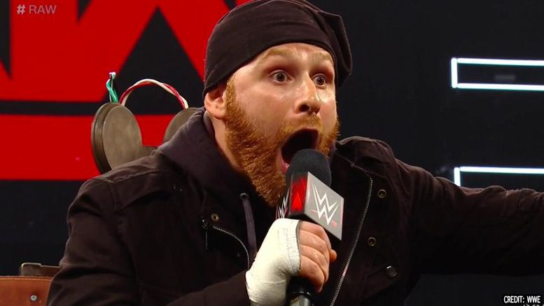 sami zayn aew all elite wrestling video scripted