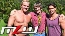 kevin von erich sons sign contract deals major league wrestling mlw