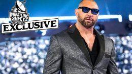 dave bautista interview stuber wrestlemania 35 triple h infinity war endgame