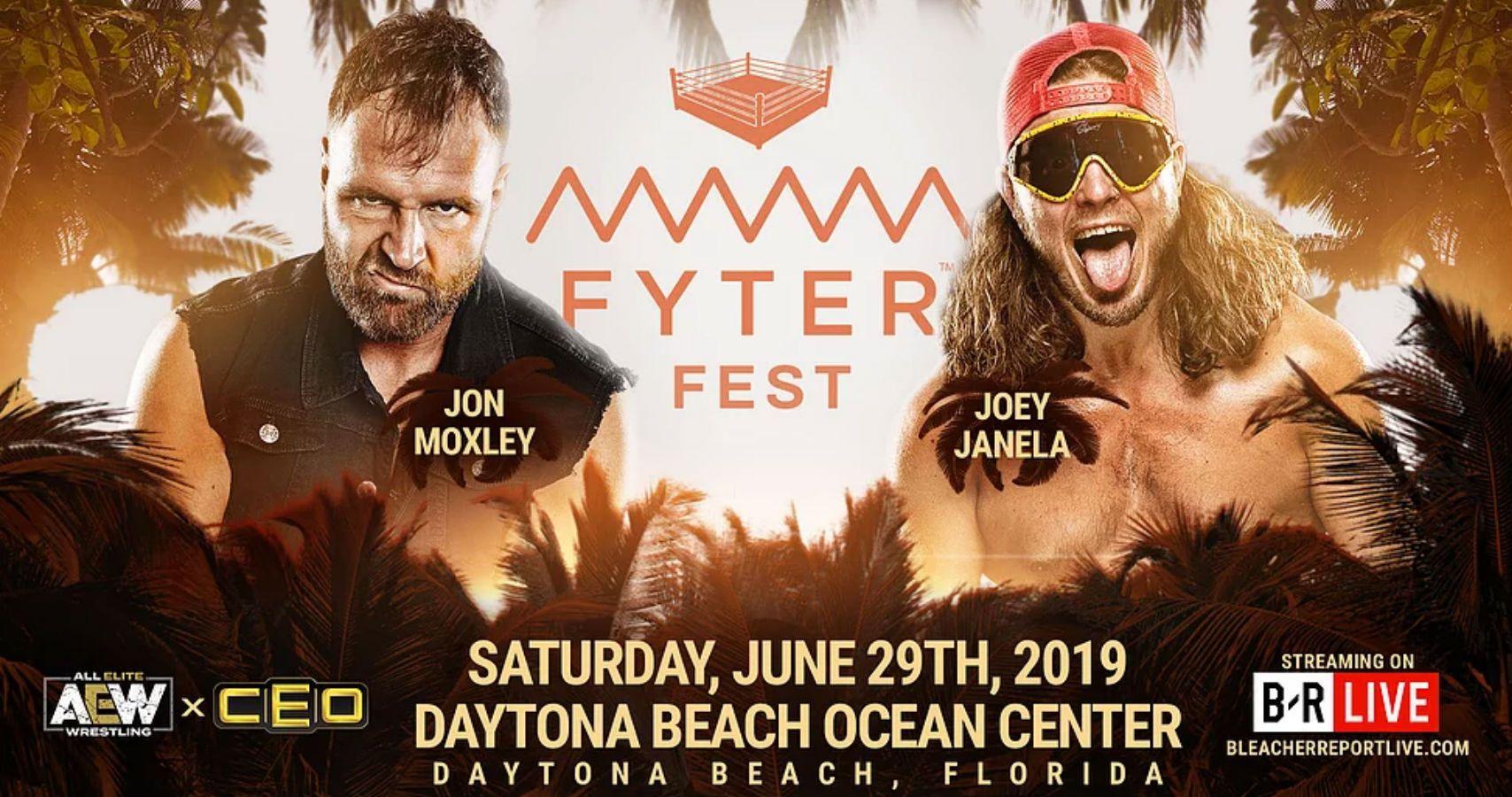 aew all elite wrestling fyter fest free b/r live bleacher report