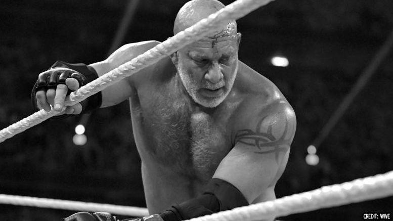 goldberg knocked out wwe super showdown undertaker