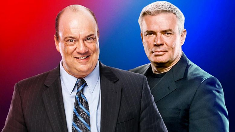 paul heyman eric bischoff wwe raw smackdown executive director