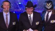 jim ross aew announcers announce team double or nothing excalibur alex marvez