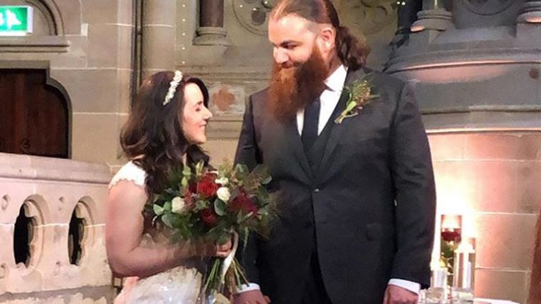killian dane nikki cross wedding ceremony tie the knot photos
