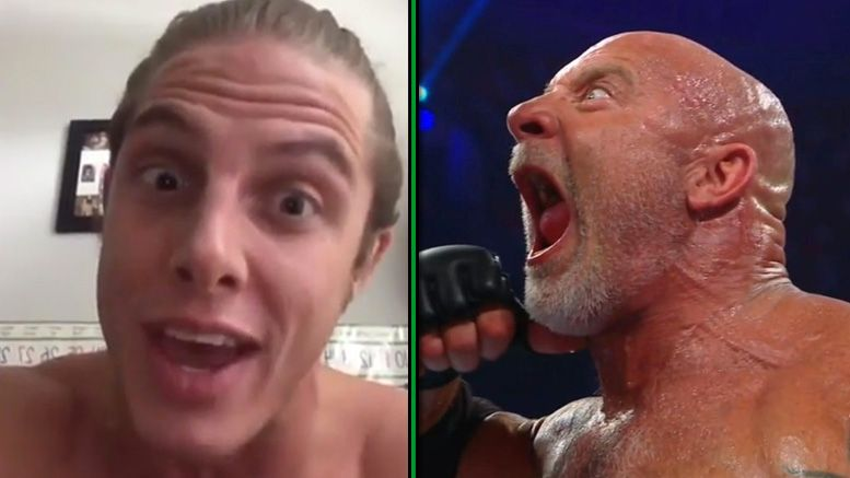 matt riddle goldberg wwe super showdown undertaker worst wrestler