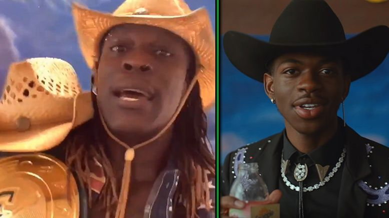 r-truth old town road 24/7 championship title video pardoy
