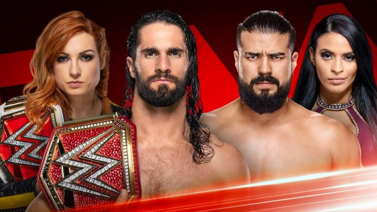 becky lynch seth rollins andrade zelina vega wwe raw video promo