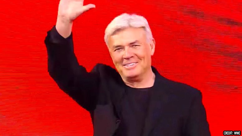 eric bischoff wwe production meeting smackdown live