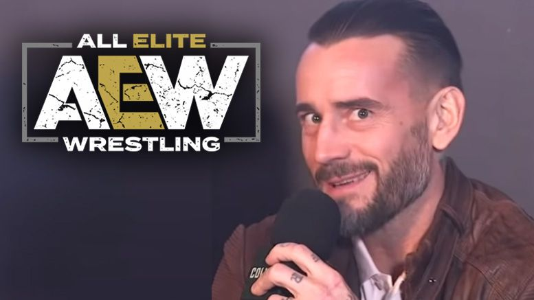 cm punk aew all elite wrestling offer contract text message