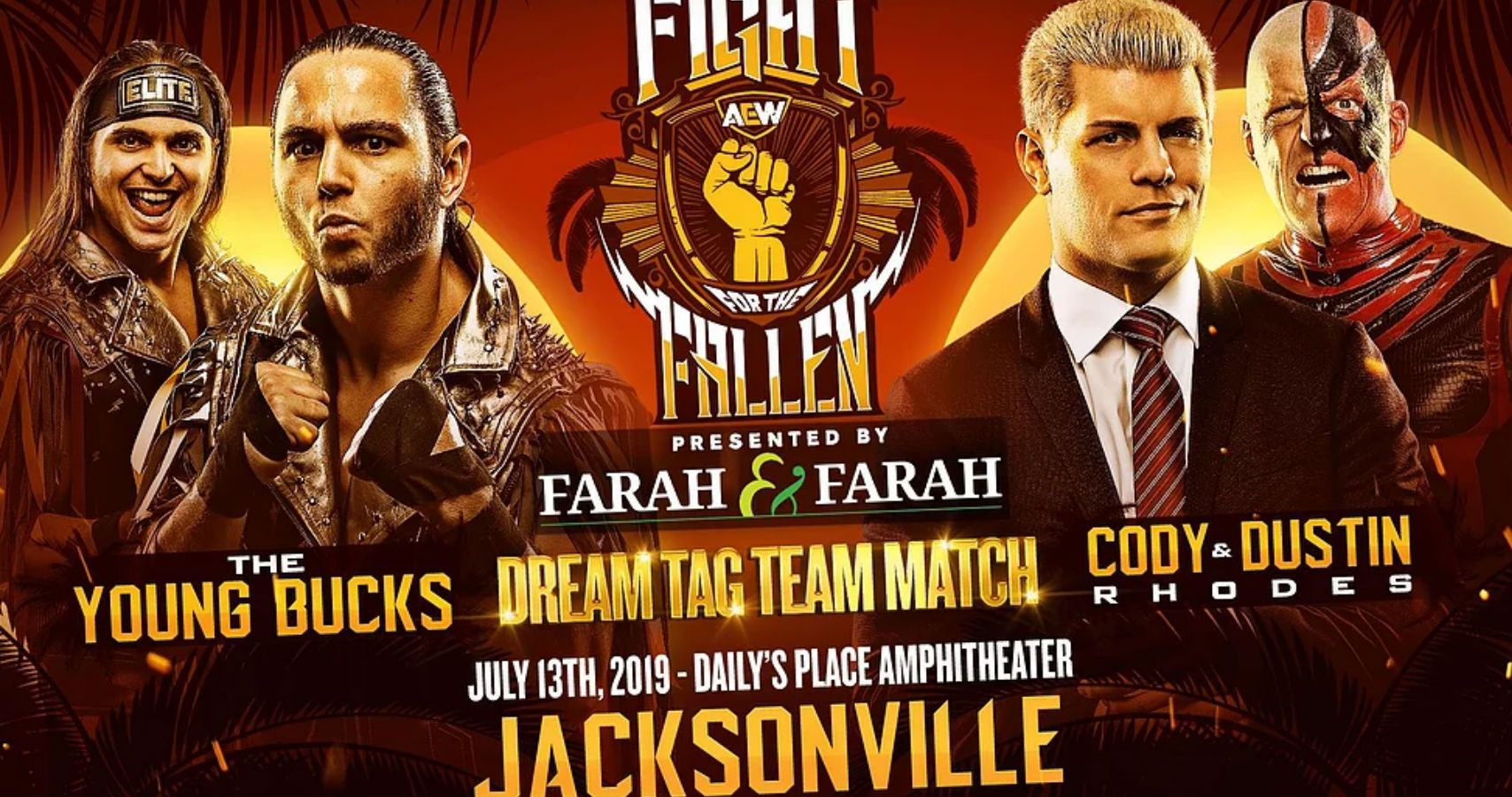 fight for the fallen pre show match road to video episode