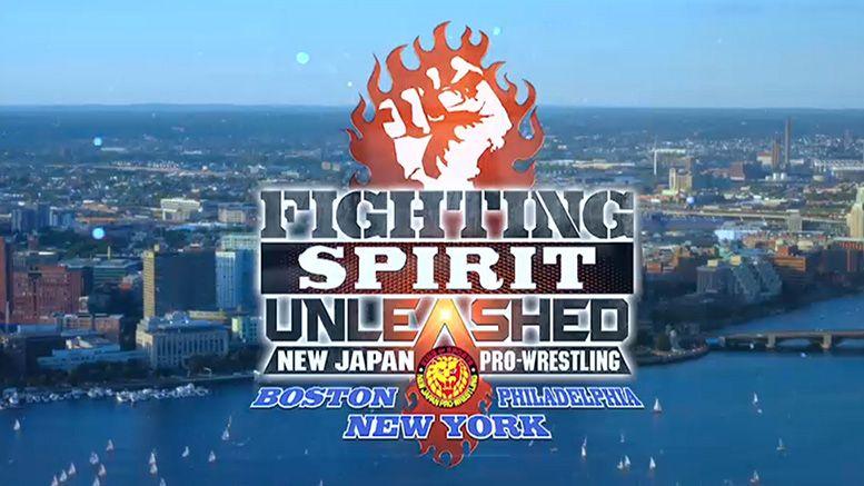 fighting spirit unleashed east coast njpw new japan events summer september