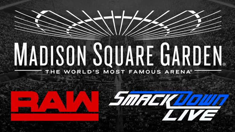 madison square garden wwe tv taping return