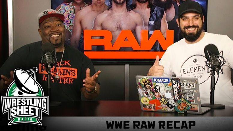 raw recap reunion special ryan satin jay washington