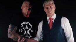 cody rhodes dustin rhodes aew fight for the fallen young bucks